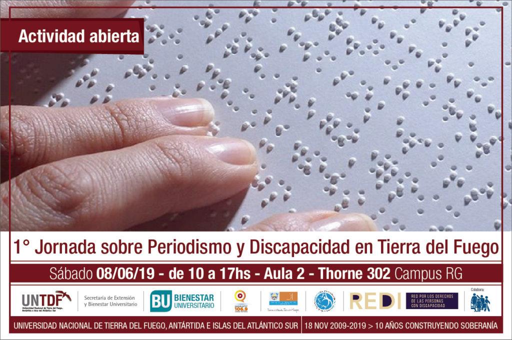 Jornada de Periodismo y Discapacidad